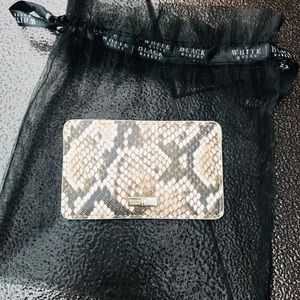 Snakeskin Card wallet